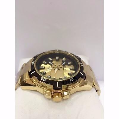 2606874b435 Relógio Original Atlantis Ck Dourado Masculino Frete Gratis. Preço  R  121  96 Veja MercadoLibre