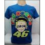Camiseta Valentino Rossi The Doctor Monster Azul