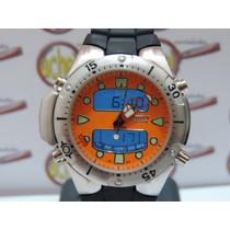 Relogio Atlantis Original Aqualand Jp1060 Laranja =citzen
