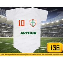 Body Ou Camiseta Times Portuguesa Brasileiro Personalizado