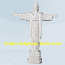 Escultura Cristo Redentor Resina 15cm Rj Lançamento Fabrica