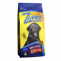 Ração Zorro Original Cães Adultos 15kg
