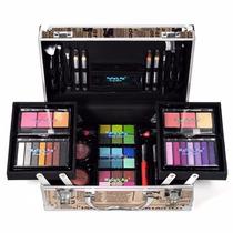 Maleta Maquiagem Profissional Completa Com 58 Itens !!