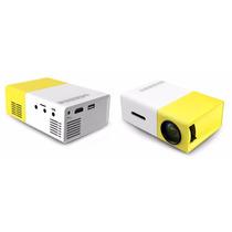 Mini Projetor Portátil 600 Lumes Hd Yg-300 / Yg-320 Hdmi Usb