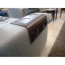 Esteira Bandeja Para Braço De Sofá Com Porta Controle