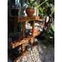 Suporte Em Madeira Multi Uso Plantas E Objetos Decorativos Original