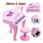 Piano Musical Infantil Com Mp3classico Com Cauda E Microfone