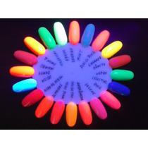 Kit 10 Esmaltes Fluorescentes Neon - Brilham No Escuro!!!