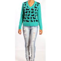 Calça Jeans Rasgada - Feminina - Indigo Jeans