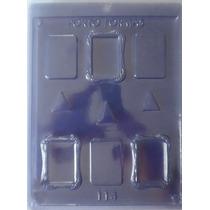 Forma Acetato Chocolate Mini Porta Retrato Moldura Kit 10pçs