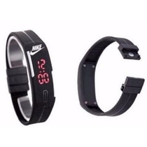 Relógio Pulseira Nike Digital Led Preto