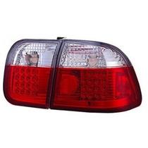 Lanterna Altezza Leds Honda Civic 96/97/98 Sedan Red