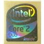 Adesivo Original Core 2 Duo P/ Desktop (cinza)