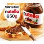 3 Creme De Avelã Nutella 650g Gigante Ferrero Pronta Entrega