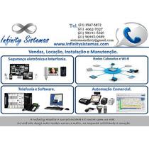 Necessito De Fornecedor De Cftv, Telefônia E Rede E Pdv