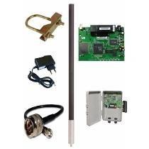 Kit Provedor De Internet Via Rádio 1200 Mw Kit 150 Clientes