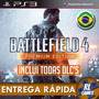 Battlefield 4 Bf4 Premium Edition - Jogo + Dlcs - Ps3 Psn