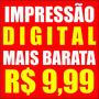 Impressão Digital Adesivo Lona Banner Papel De Parede R$9,99