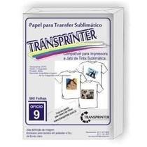 Papel Sublimático Alta Definição Transprinter 120 Gr