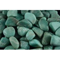 Amazonita Pedras Semipreciosas Brasileiras Polidas - 500g