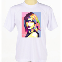 Camiseta Camisa Cantora Banda Rock Pop Taylor Swift