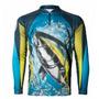 Camiseta Pesca Sublimada Uv - Kff25 Atum  Nota Fiscal
