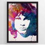 Quadro Art Impressa Jim Morrison The Doors Photo Mate 80x100