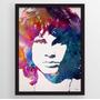 Quadro Art Impressa Jim Morrison The Doors Photo Matte 40x60