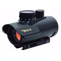 Red Dot Sight Bsa 1x30mm Trilho 9 A 11 Mm