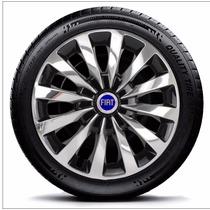Calota Fiat Palio Aro 13 2000 Ex Elx 500 Anos 4 Pc E2019ja