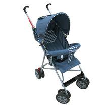 Carrinho De Bebê Prime Baby Umbrella Stillo Azul