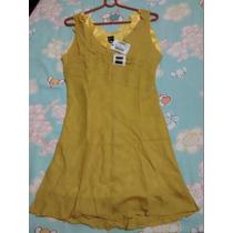 Lindo Vestido Grife Zapping,amarelo, Original,baratissímo!