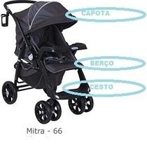 Capa Ou Estofado Carrinho Classe1, Burigotto Original Mitra