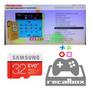Micro Sd 32gb Classe 10 Recalbox 4.1 Raspberry 10228 Jogos Original