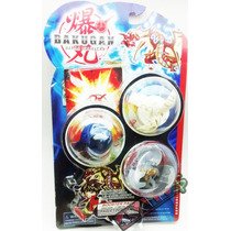 3 Bakugan Battle Brawlers + Card Metal - Kit_02