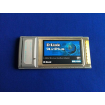 Cardbus Pcmcia Wireless Wi-fi D-link Airplus Dwl-650+