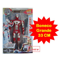 Boneco Importado Brinquedo Homem De Ferro Grande Vingadores
