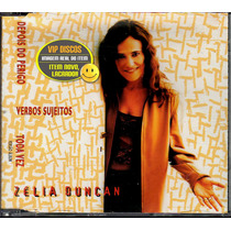 Zelia Duncan Cd Single Promocional 3 Faixas - Raro