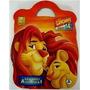 Maleta Grandes Aventuras Rei Leão 8 Livros Disney +brinde Cd