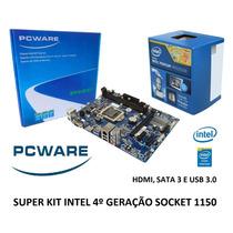 Kit Placa Mae Ipmh81g1 1150 + Intel Pentium Dual Core G3260