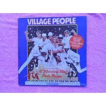 Lp Village People P/1980- A Música Não Pode Parar