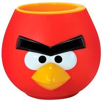 Abaixou! Caneca Angry Birds Pássaro Red Copo Porta Lápis