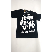 6dcd4f6b4 Busca blusas com frases biblicas com os melhores preços do Brasil ...
