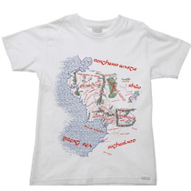 Camiseta Infantil Senhor Sr Anel Aneis Hobbit 06