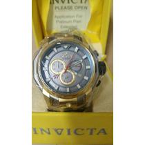 Relógio Invicta 16813 S1 Rally Titanium / 18k - Original