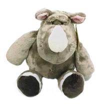 Rinoceronte De Pelúcia Safári Bebê Criança Berço - Fofy Toys