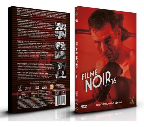 Filme Noir Vol. 16 - 3 Dvds 7 Filmes Ed. Limitada Com Cards