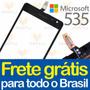 Tela Touch Microsoft Nokia Lumia 535 Rm1092 Versao Ct2s