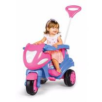 Triciclo Max 2 Em 1 Rosa (para Criança Até 8 Anos De Idade)