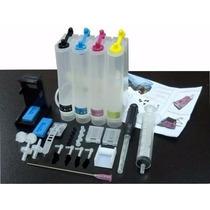 Bulk Ink Para Impressora Hp Deskjet D2460 P/ Cartuchos 21 22